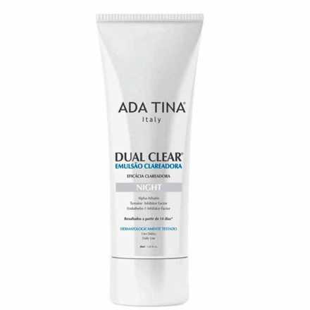 Ada Tina Dual Clear Night - Emulsão Clareadora Facial 30ml