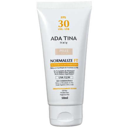 Ada Tina Normalize Ft Fondotinta Fps 30 Pelle Cor 20 - Protetor Solar Com Cor 50ml