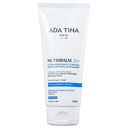 Ada Tina Nutribalm 20+ - Hidratante Corporal Antienvelhecimento 200ml
