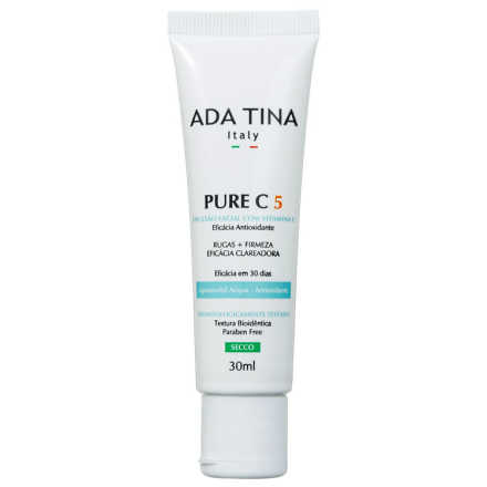Ada Tina Pure C 5% - Emulsão Facial 30ml