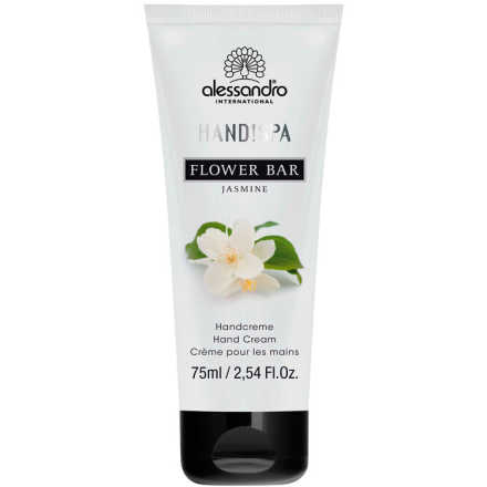 Alessandro Flower Bar Hand Cream Jasmine - Creme para Mãos 75ml