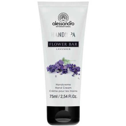 Alessandro Flower Bar Hand Cream Lavender - Creme para Mãos 75ml