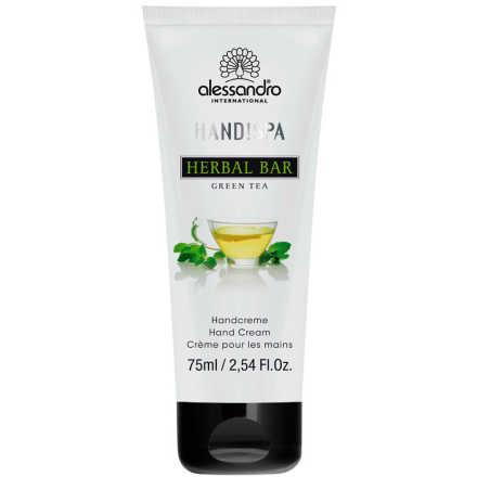 Alessandro Flower Bar Hand Cream Green Tea - Creme para Mãos 75ml