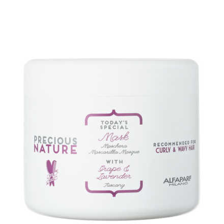 Alfaparf Precious Nature Grape & Lavender Mask - Máscara de Tratamento 500ml