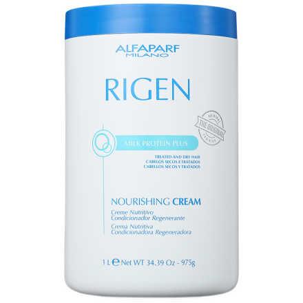 Alfaparf Rigen Milk Protein Plus Nourishing Cream - Máscara de Tratamento 1000ml