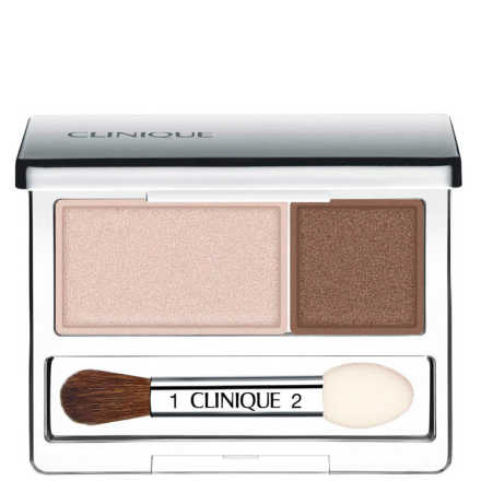 Clinique All About Shadows Ivory Bisque/Bronze Satin - Duo de Sombras 2,2g