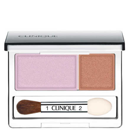 Clinique All About Shadows Seashell Pink/Fawn Satin - Duo de Sombras 2,2g
