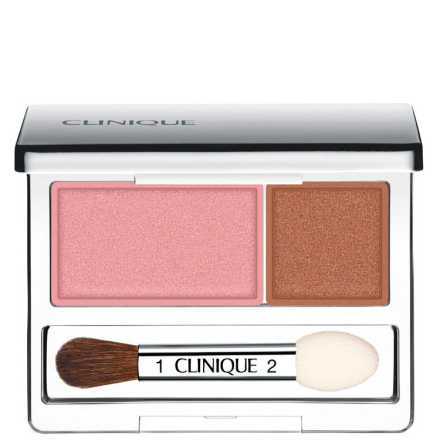 Clinique All About Shadows Strawberry Fudge - Duo de Sombras 2,2g