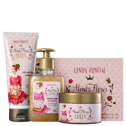 Alma de Flores Queen Kit Completo (4 Produtos)