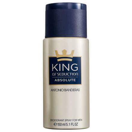 Antonio Banderas King of Seduction Absolute - Desodorante Masculino 150ml