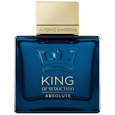 King of Seduction Absolute Antonio Banderas Eau de Toilette - Perfume Masculino 100ml