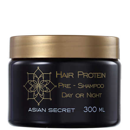 Asian Secret Hair Protein Pre-Shampoo Day or Night - Pré Shampoo 300ml