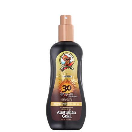 Australian Gold Spf 30 Spray Gel With Instant Bronzer - Protetor Solar 237ml