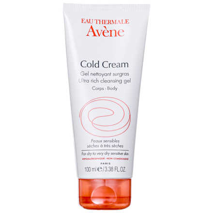Avène Cold Cream Gel Nettoyant Corps - Gel de Limpeza 100ml
