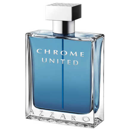 Chrome United Azzaro Eau de Toilette - Perfume Masculino 50ml