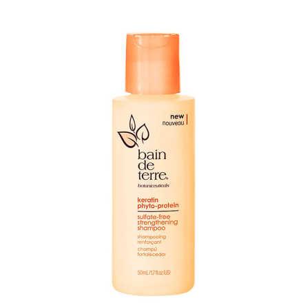 Bain de Terre Keratin Phyto-Protein Strengthening - Shampoo 50ml
