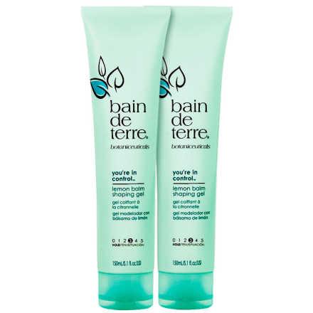Bain De Terre Styling You're In Control Lemon Balm Gel Duo Kit (2 Produtos)