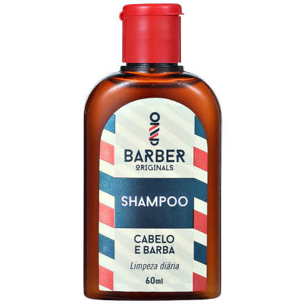 Barber Originals Cabelo e Barba - Shampoo 60ml