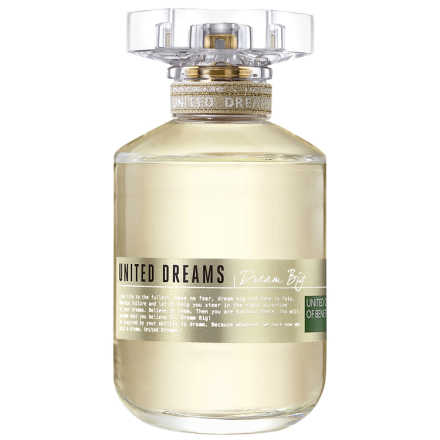 Dream Big Benetton Eau de Toilette - Perfume Feminino 80ml