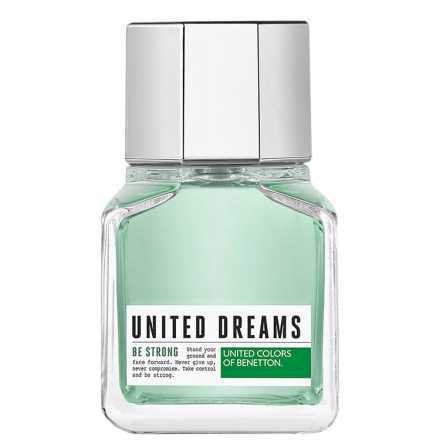 United Dreams Be Strong Benetton Eau de Toilette - Perfume Masculino 60ml