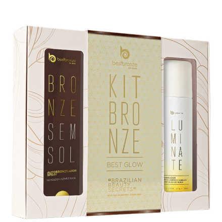 Best Bronze Presente Best Glow Kit (2 produtos)