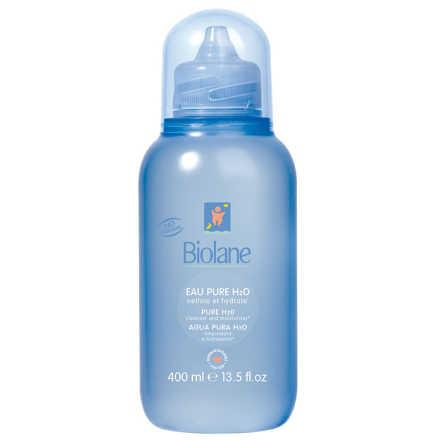 Biolane Eau Pure H2O Nettoie Et Hydrate - Água de Limpeza 400ml