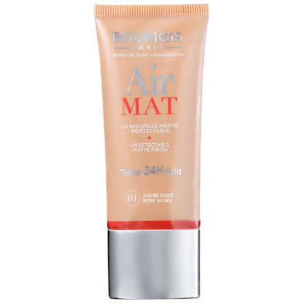 Bourjois Air Mat Tenue 24H Hold N01 Ivoire Rose - Base Líquida 30ml