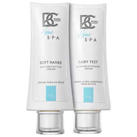 Brazilian Concept Soft Hands Fairy Feet Cream Kit (2 Produtos)