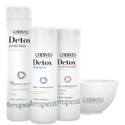 Cadiveu Professional Detox Home Care Kit (3 Produtos + Cumbuca)
