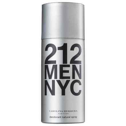 Carolina Herrera 212 Men Deo Spray - Desodorante Corporal 150ml