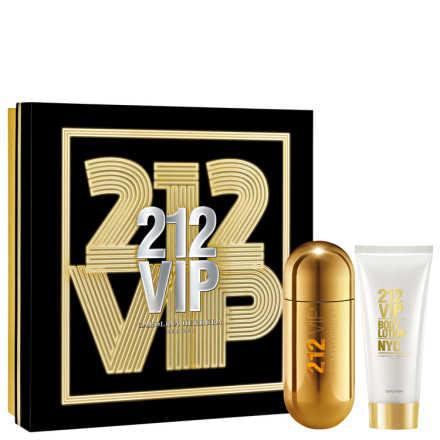 Conjunto Carolina Herrera 212 VIP Feminino - Eau de Parfum 80ml + Loção Corporal 100ml