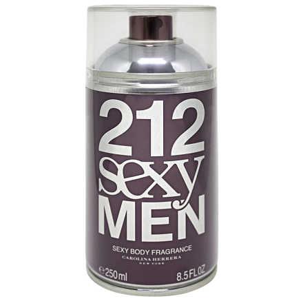 Carolina Herrera Perfume Masculino 212 Sexy Men Body - Eau de Toilette 250ml