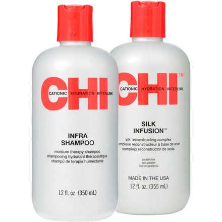 CHI Infra Silk Reconstructing Kit (2 Produtos)