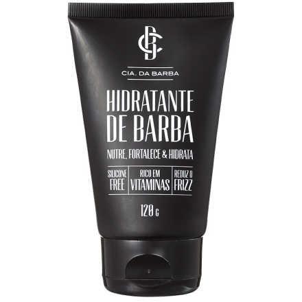 Cia da Barba - Hidratante de Barba 120g