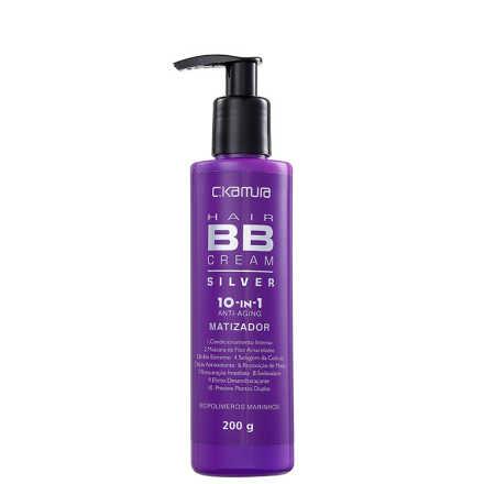 C.Kamura BB Cream Hair 10-In-1 Silver - Tratamento 200g