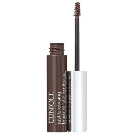 Clinique Just Browsing Styling Mousse Deep Brown - Máscara para Sobrancelha 2ml