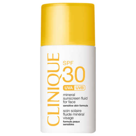 Clinique Mineral Sunscreen Fluid For Face FPS 30 - Protetor Solar Facial 30ml