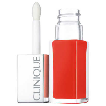 Clinique Pop Lacquer Lip Colour + Primer 3 Happy Pop - Batom Líquido 6,5g
