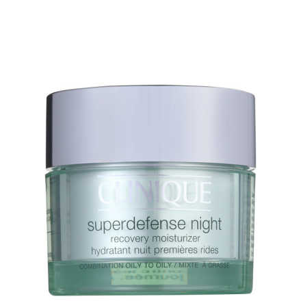 Clinique Superdefense Night Recovery Moisturizer Skin Type 3 - 4 - Anti-Idade Noturno 50ml