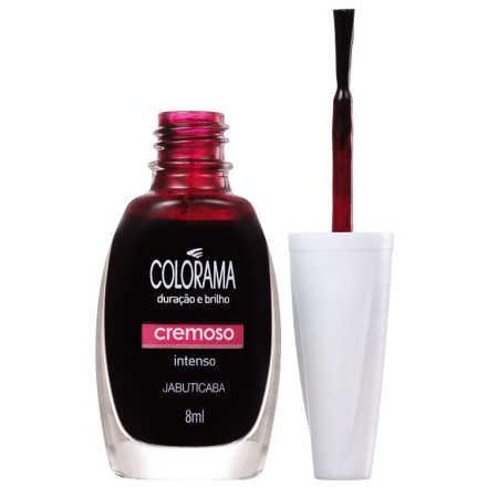 Colorama Verniz & Cor Jabuticaba - Esmalte 8ml