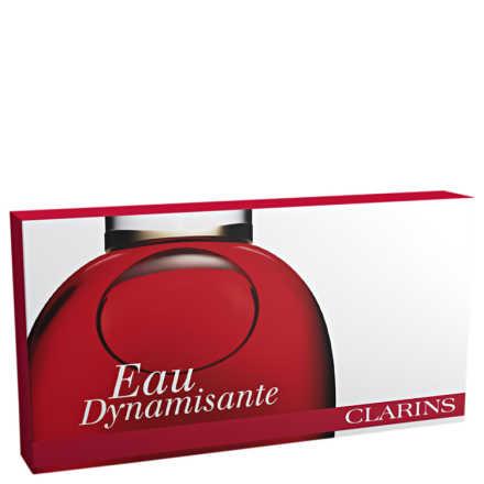 Conjunto Clarins Eau Dynamisante Vitalité Fraîcheur Fermeté Unissex - Fragrância de Tratamento 100ml + Miniatura 10ml