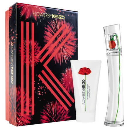 Conjunto Flower by Kenzo Feminino - Eau de Parfum 30ml + Body Milk 50ml