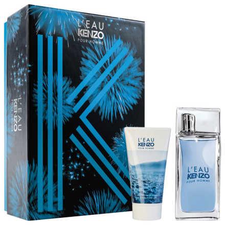 Conjunto L'Eau Par Pour Homme Kenzo Masculino - Eau de Toilette 50ml + Shower Gel 50ml