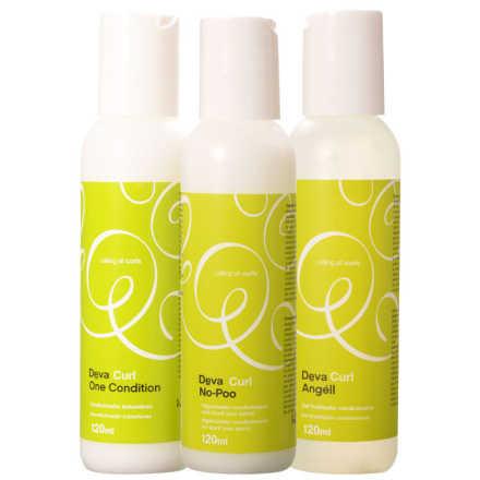 Deva Curl 3-Passos Kit (3 Produtos)