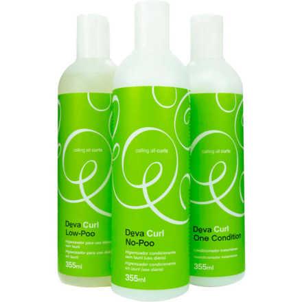 Deva Curl Kit (3 Produtos)
