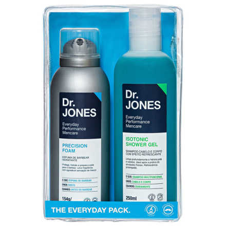 Dr. Jones The Everyday Pack Kit (2 Produtos + Estojo)