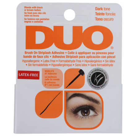 Duo Dark Brush On Striplash Adhesive - Cola para Cílios Postiços 5g
