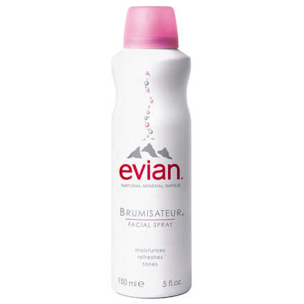 Evian Natural Mineral Water Brumisateur Facial Spray - Água Termal 150ml