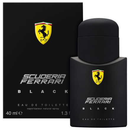 Ferrari Black Eau de Toilette - Perfume Masculino 40ml