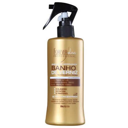 Forever Liss Professional Banho de Verniz - Queratina Hidrolisada 300ml